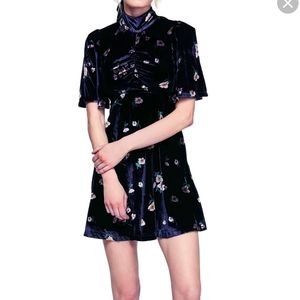 Free People Be My Baby Velvet Dress